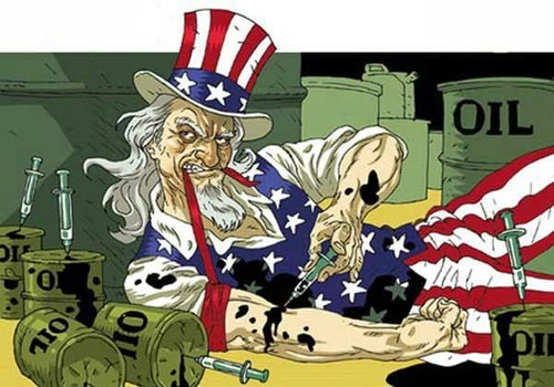 uncle sam oil addiction